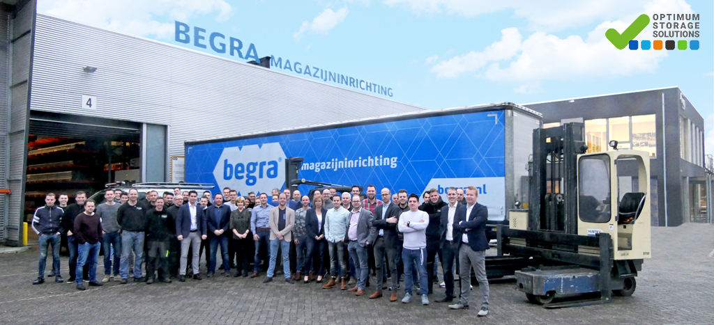 begra magazijninrichting