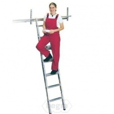 Inhang stellingladder
