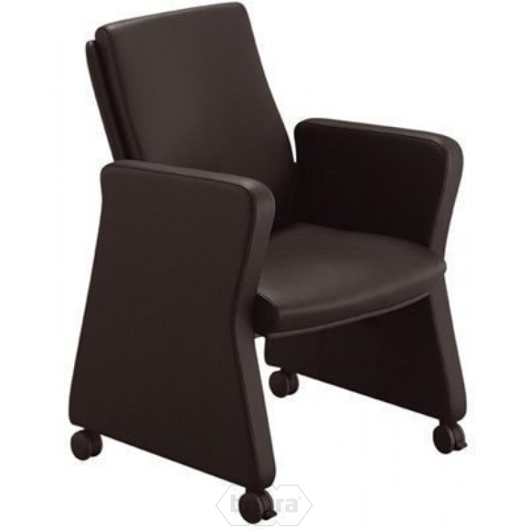 Dublin conferentie fauteuil half leather