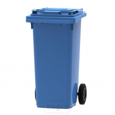 Mini-container, minicontainer 120 liter blauw