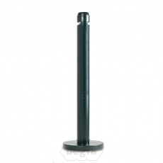 Smokers Pole rubbermaid rookzuil zwart